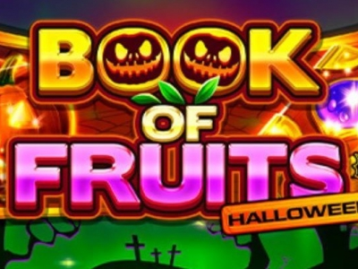 Duik in een spannende wereld met Book of Fruits Halloween van Amatic!