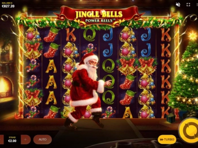Win prijzen met Jingle Bells Power Reels van Red Tiger!