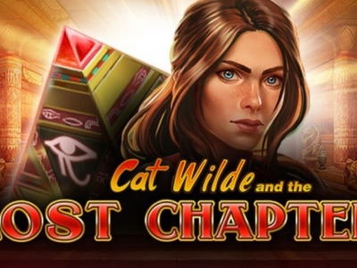 Prijzen winnen met Cat Wilde and the Lost Chapter van Play'n GO!