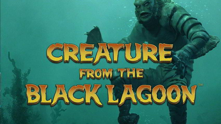 Creature from the black lagoon slide